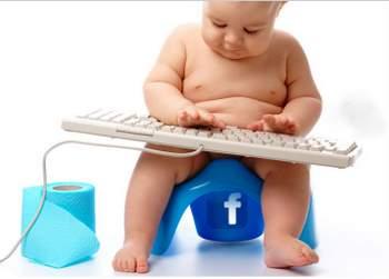 Resultado de imagen para bebé facebook